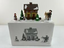Dept 56 Dickens Village, Tending The New Calves, Figures Mint In Box 58395