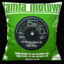 "TAMLA MOTOWN Northern Soul 16""x16"" 40cm Copricuscino Frank WILSON FARE I Love You"
