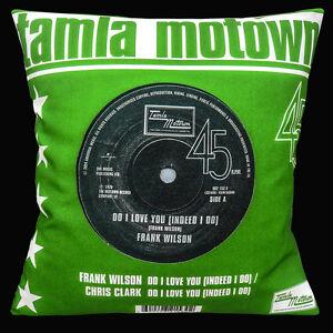 "Tamla Motown Northern Soul 16""x16"" 40cm Cushion Cover Frank Wilson Do I Love You"