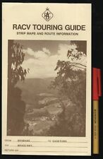 Vintage RACV TOURING GUIDE Route Maps & Guide BRISBANE to COOKTOWN Caboolture BU