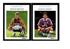 Autogrammkartensatz FC Bayern München 1996-97 14 Karten Original Signiert(1664)