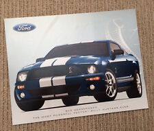 Ford Shelby Mustang GT 500 Brochure - 1997