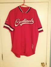 Stitches St. Louis Cardinals Jersey - XL No Name On Back