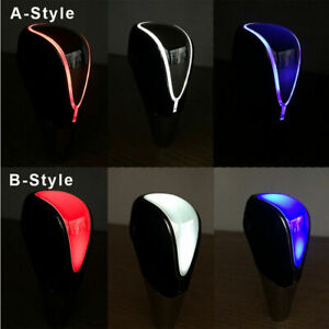Auto Gear Shift Knob LED Light Multi Color Touch Activated Sensor For NISSAN