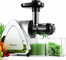 Homever Slow Masticating Juicer Extractor Cold Press Juicer All Fruit and Veges