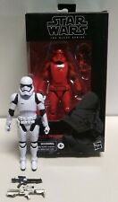 star wars black series 6 inch lot sith jet trooper, first order stormtrooper