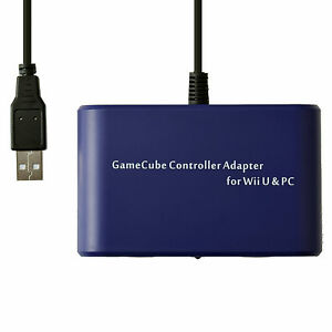Mayflash 2 Port GameCube GC Controller Adapter Converter for Switch Wii U PC USB