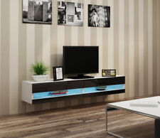 Seattle 32 white entertainment stand / living room tv stand / tv console table
