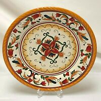 """JCPenney VILLA ANCONA CHRIS MADDEN 11-1/4"""" DINNER PLATE Minor Flaw CONDITION"""