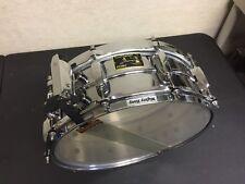 Original Tama Stewart Copeland Signature Snare Drum Brass NICE