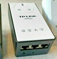 Tp-Link Powerline Kit, 500Mb/S Wifi,TL-WPA4230P wireless booster Pass Through
