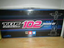 Tamiya TRF-102 42289 F1 RC chassis kit half built new complete blue