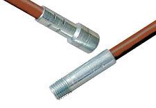 "Rutland 6' Foot 72"" Fiberglass Flexible Extension Rod Pole for Chimney Brushes"