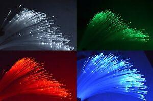 Fiber Optic Cable 0.25 / 0.5 / 0.75 / 1 / 1.5 / 2.0 Silica Core End Glow