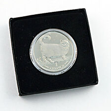 1998 Isle of Man - Birman Cat - Clad Proof