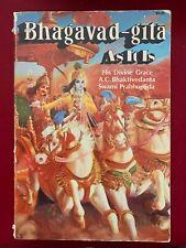 Bhagavad Gita Large Original Edition 1973 Srila Prabhupada