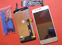 P1 DISPLAY LCD+TOUCH SCREEN HUAWEI PER Y3 2 II 3G ORO GOLD+ ATTREZZI VETRO