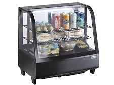 Tisch-Kühlvitrine Modell KATRIN 100 L schwarz von Saro