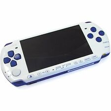 SONY PSP 3000 Limited Edition White Blue Console *VGC*+Warranty!