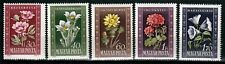 Ungarn 1112-16 **, Blumen
