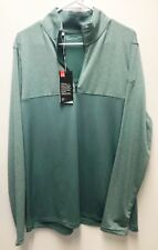 Under Armour UA Golf Outerwear Pullover Half Zip Green Loose Light Large
