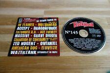 IN FLAMES - MOTORHEAD - ACCEPT - DRAGONFORCE - ENTOMBED A.D. - CD ROCK HARD 145