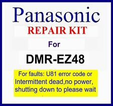 Panasonic Dmr-ez48v dvd Repair kit, For U80, U81 fault, Please wait. Dmr-ez48veb