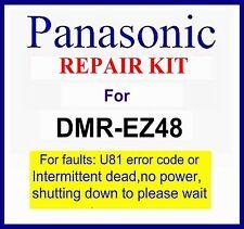 Panasonic Dmr-ez48v dvd Repair kit, For U80, U81 fault, Please wait. Dmr-ez48veb