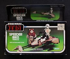 Star Wars ROTJ Original Kenner Vintage Speeder Bike Vehicle Sealed Box NOS