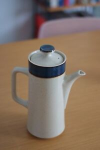 Mid Century Rainbow Stoneware Tea Pot, Made in Japan, Vintage, Good Condition