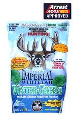WHITETAIL INSTITUTE WINTER GREENS BRASSICA SEED 1 lb Deer Plot Seeds Kale Turnip