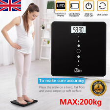 200kg Electronic Digital Body Weighing Bathroom Scales Weight Scale LCD Display