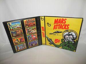 Custom Made 1962 Mars Attacks Trading Card Album Binder