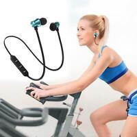 Bluetooth Stereo Kopfhörer Kopfhörer Wireless Magnetischer Ear Kopfh In Ohr
