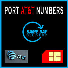 Phone numbers | Numbers to Port | At&T | Fast Service | Att numbers for porting