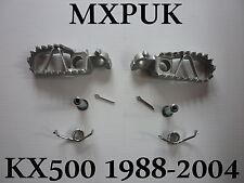 KX500 1988 FOOTPEGS GENUINE KAWASAKI 1988  KX 500 FOOT PEGS MXPUK (368)