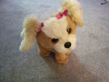 RARE 2011 FUR REAL FRIENDS FRF Barking Bouncy Happy To See Me Moving Puppy