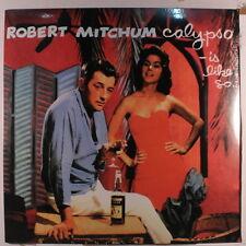 ROBERT MITCHUM: Calypso  Is Like So LP Sealed (Euro, reissue) Oldies