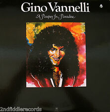 GINO VANNELLI-Rare Autographed A PAUPER IN PARADISE Promo Only Album with Poster