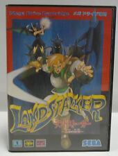 LAND STALKER  - LANDSTALKER SEGA MEGA DRIVE MD NTSC JAPAN BOXED