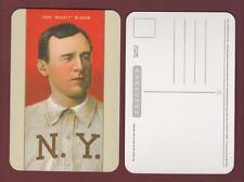 John McGraw, Giants ~ T206 style fine art postcard (Russo/Clarkson Potter)