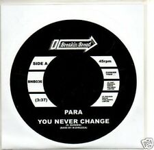 (819O) Para, You Never Change - DJ CD