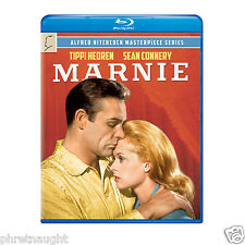 MARNIE BLU-RAY - SEAN CONNERY - TIPPI HEDREN - ALFRED HITCHCOCK - AUTHENTIC US