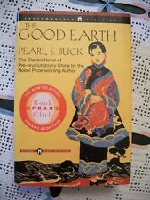 The Good Earth (Pearl S. Buck, Copyright 1958) Large Print Oprah's Book Club