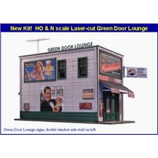 Blair Line 2008 - Laser Cut Green Door Lounge Kit - HO Scale