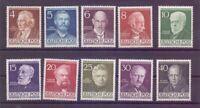 Berlin Berühmte Männer 1952 - MiNr. 91/100 postfrisch** - Michel 130,00 € (949)