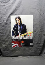 TWO<<>>RATT *Warren DeMartini* Rotosound Posters<<>>NEW<<>>RARE