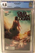 OLD MAN LOGAN # 3 CGC 9.8. (2015)