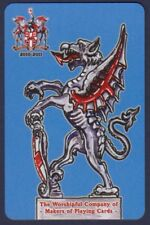 Playing Cards 1 Single Swap Card - 2010 WORSHIPFUL Co. City of London DRAGON 2