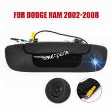 Tailgate Car Backup Reverse Handle Camera For Dodge Ram 1500 2500 3500 2002 2008 Fits 2008 Dodge Ram 3500